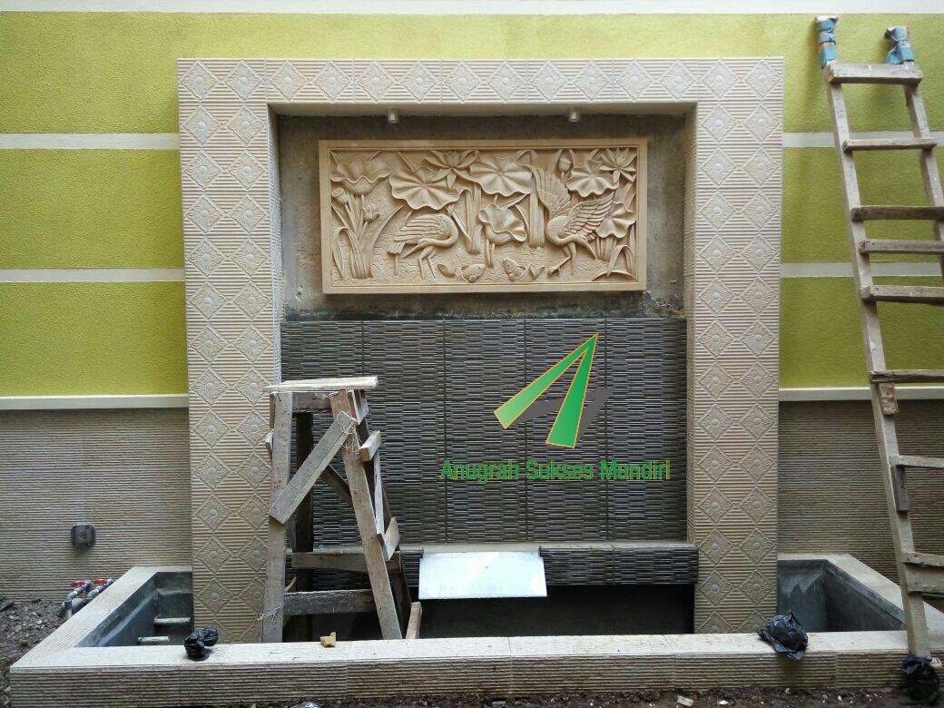 Pemasangan Lantai Granit Batu Relief di Bandung