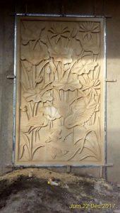 Relief dan Ukiran Batu Paras Jogja