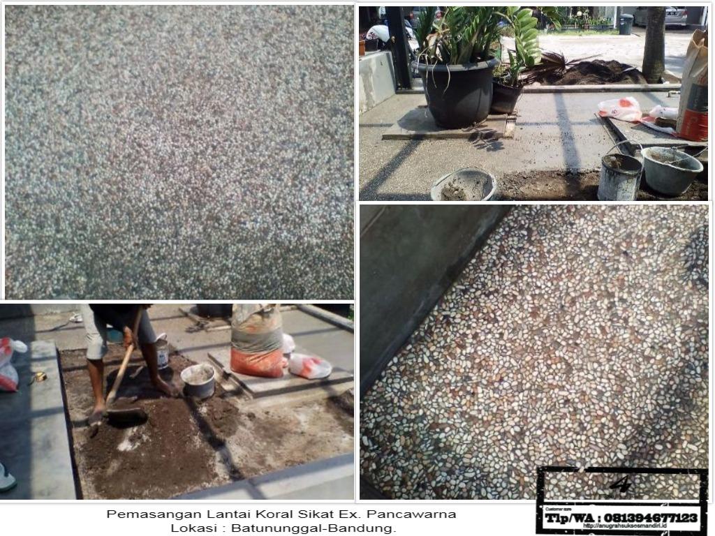 Pemasangan Koral Sikat-Proyek Jln. Batununggal Sari -Bandung