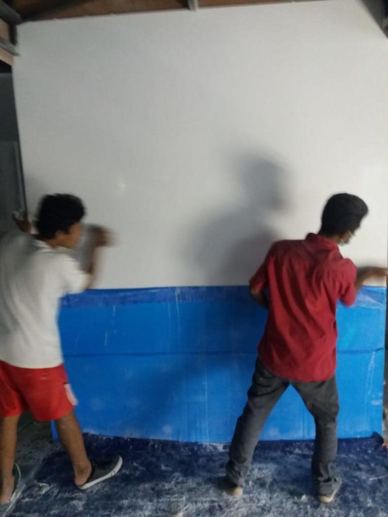 Aplikasi Pemasangan Solid Surface Oriflame Bandung