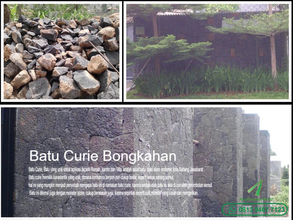 Batu Curie Bongkahan