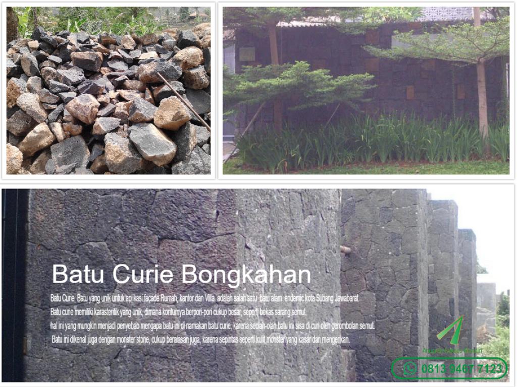 Batu Curie, Batu Tiffa dan Monster Stone